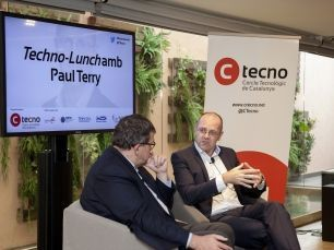 FOTOGRAFIES Techno-Lunch amb Paul Terry