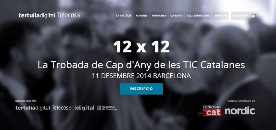 12×12: The New Year's Gathering of the Catalan ICT